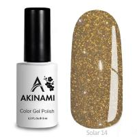 Гель-лак AKINAMI Color Gel Polish - Solar 14 (9 мл)