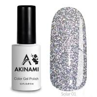 Гель-лак AKINAMI Color Gel Polish - Solar 01 (9 мл)