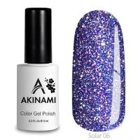 Гель-лак AKINAMI Color Gel Polish - Solar 06 (9 мл)